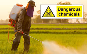 Masked Man  Douses Farm With Dangerous Chemicals @ ToxicNow.com